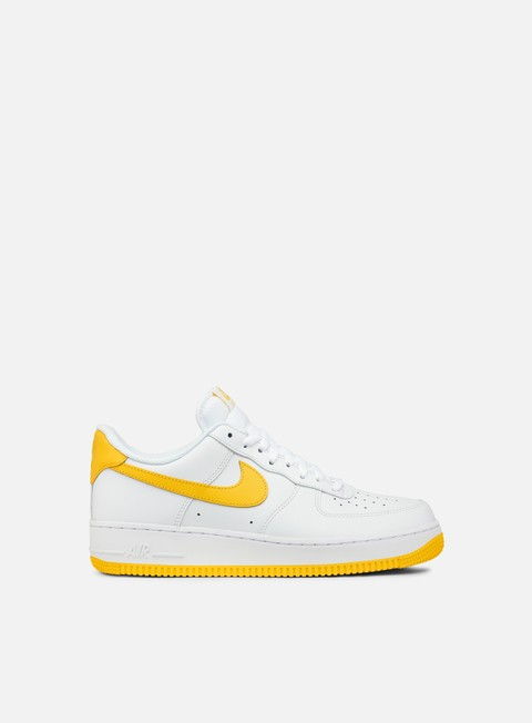 sneakers nike air force 1 white varsity maize