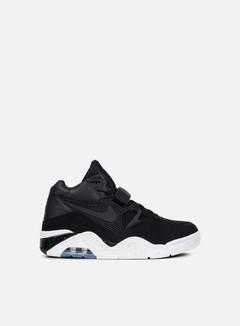 Nike - Air Force 180, Black/Black/White