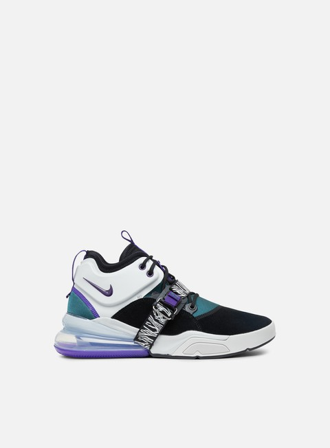 sneakers nike air force 270 black court purple atomic teal