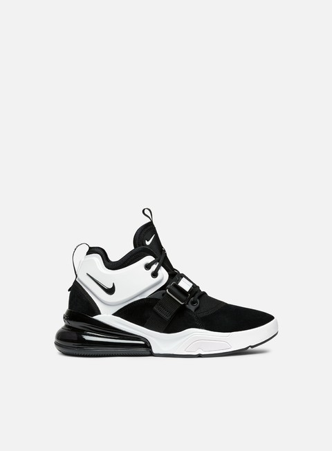 sneakers nike air force 270 black white black