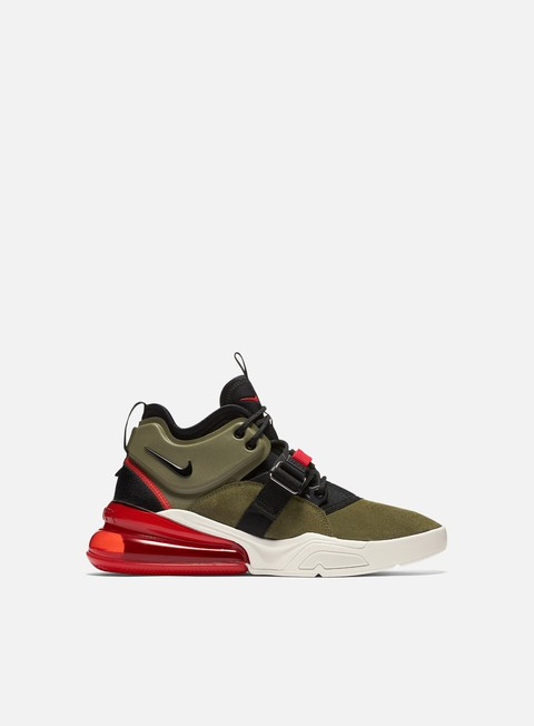 sneakers nike air force 270 medium olive black