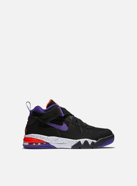 sneakers nike air force max cb black court purple team orange