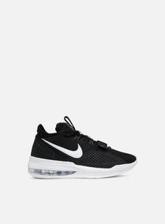 Nike - Air Force Max Low, Black/White/White/Volt