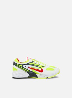 Nike - Air Ghost Racer, White/Atom Red/Neon Yellow