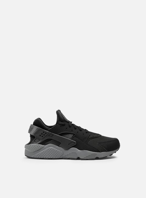 sneakers nike air huarache black black dark grey