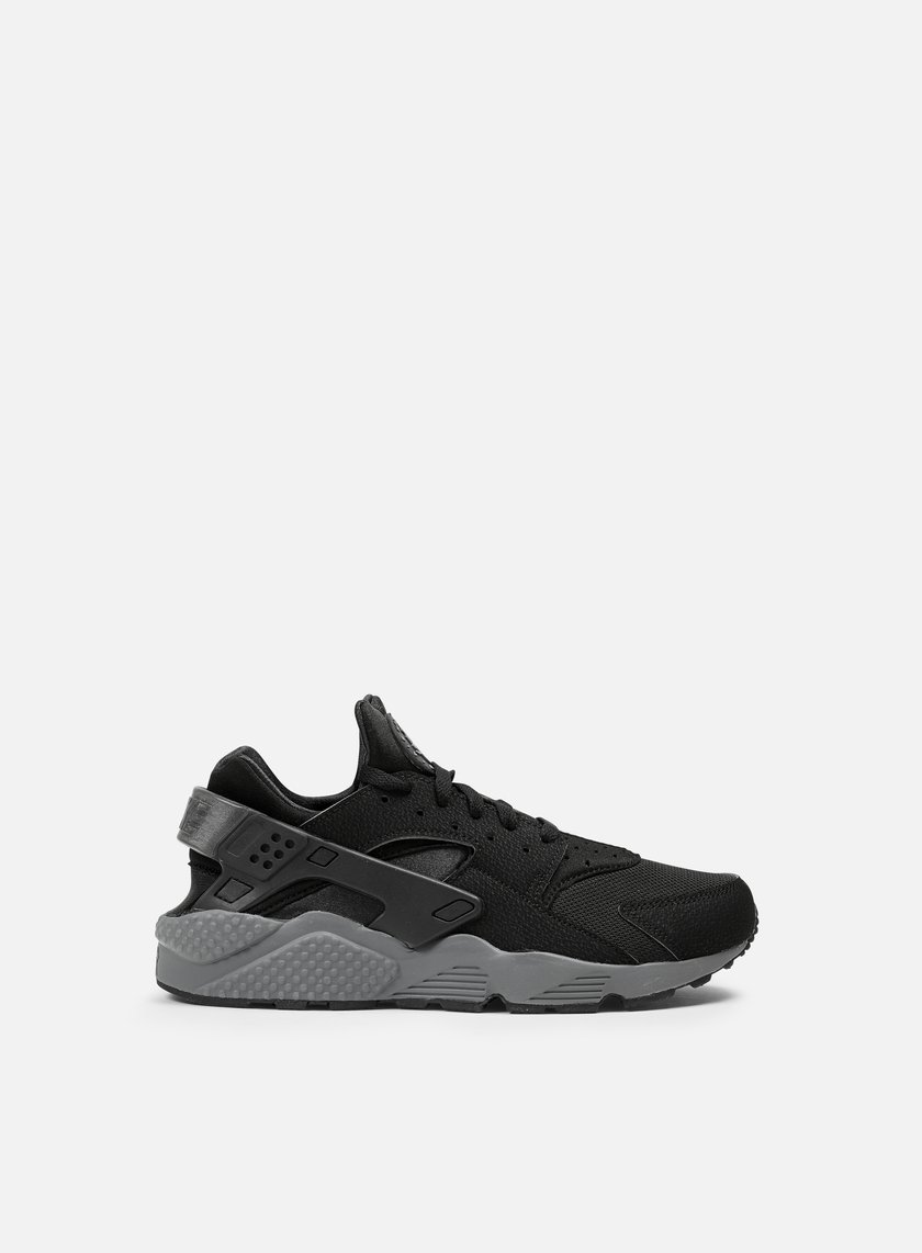 Nike - Air Huarache, Black/Black/Dark Grey
