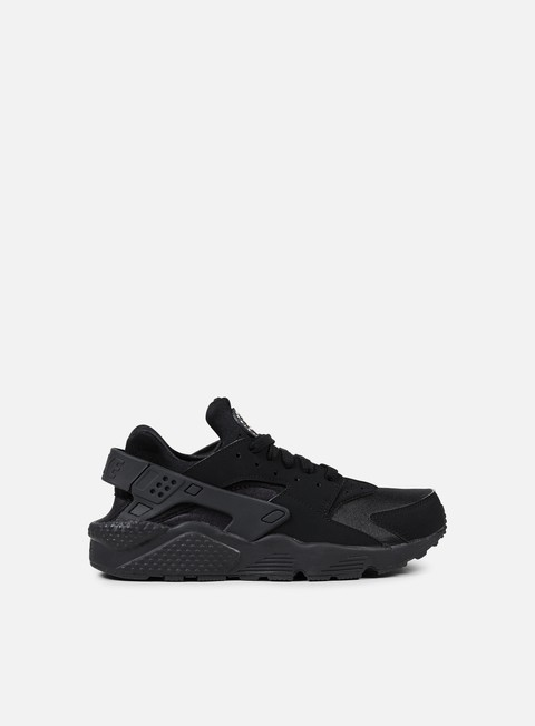 sneakers nike air huarache black black white