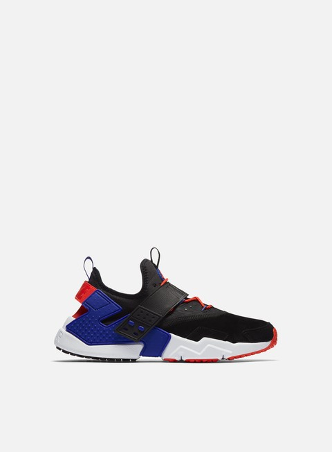 sneakers nike air huarache drift prm black rush violet rush orange