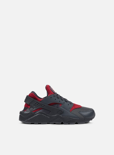 sneakers nike air huarache gym red gym red black