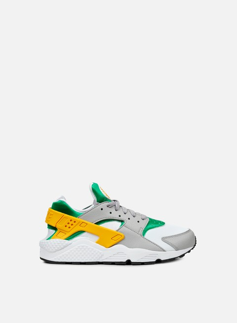 sneakers nike air huarache lucid green university gold white