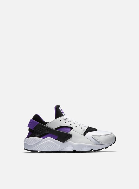 sneakers nike air huarache run 91 qs black purple punch white