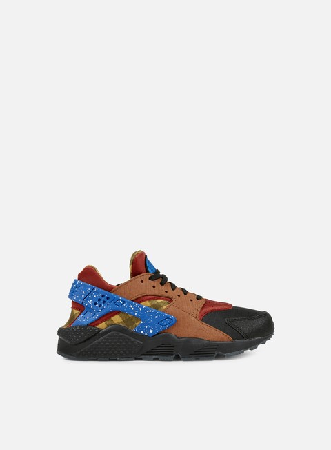 sneakers nike air huarache run prm dark cayenne blue spark black
