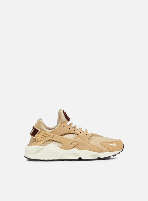 sneakers nike air huarache run prm desert sail burgundy ash