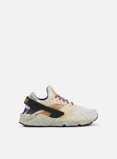 sneakers nike air huarache run prm linen golden beige black