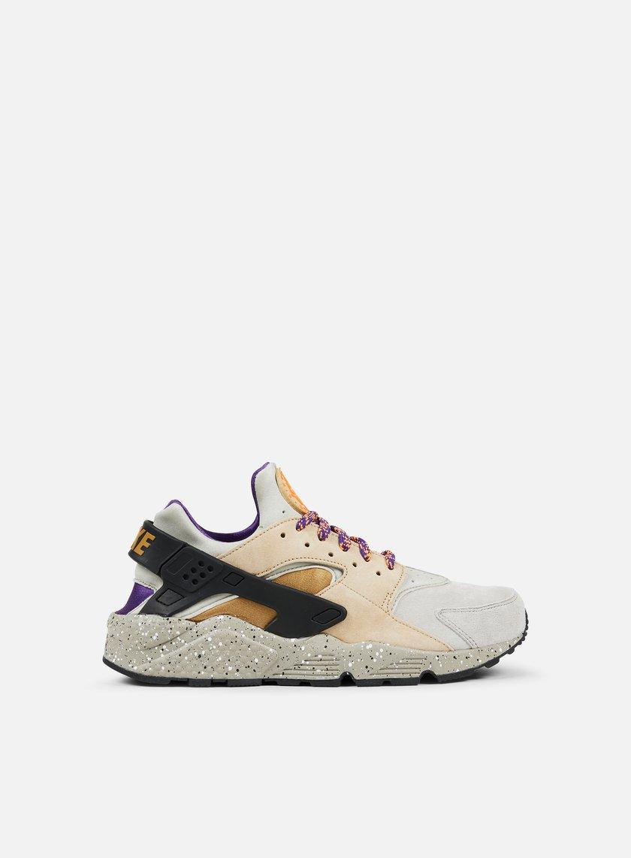Nike - Air Huarache Run PRM, Linen/Golden Beige/Black