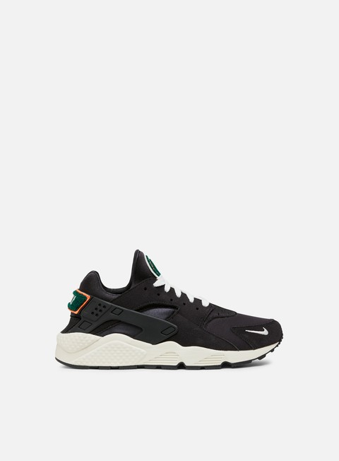 sneakers nike air huarache run prm oil grey sail rainforest