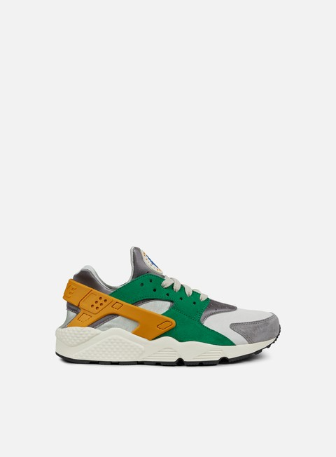 sneakers nike air huarache run prm pine green gold leaf