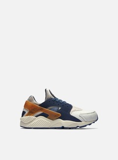 Nike - Air Huarache Run PRM, Sail/Mid Navy/Ale Brown