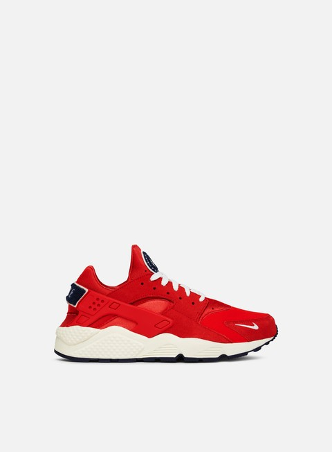 sneakers nike air huarache run prm university red sail