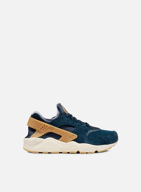 sneakers nike air huarache run se armory navy gum yellow