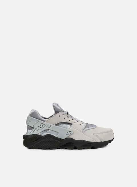 sneakers nike air huarache run se matte silver matte silver black