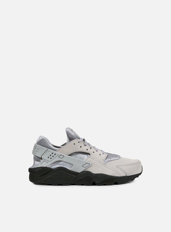 Nike - Air Huarache Run SE, Matte Silver/Matte Silver/Black