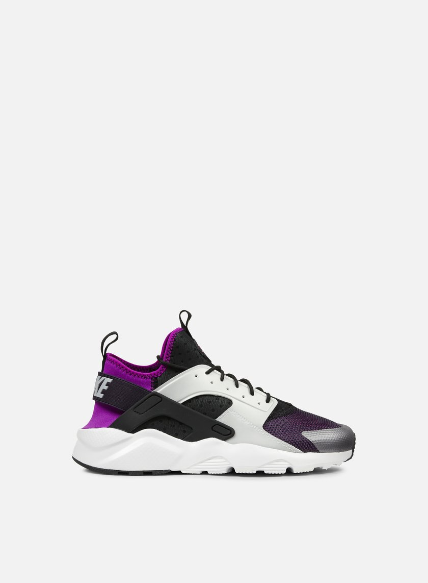 Nike - Air Huarache Run Ultra, Black/Wolf Grey/Hyper Grape