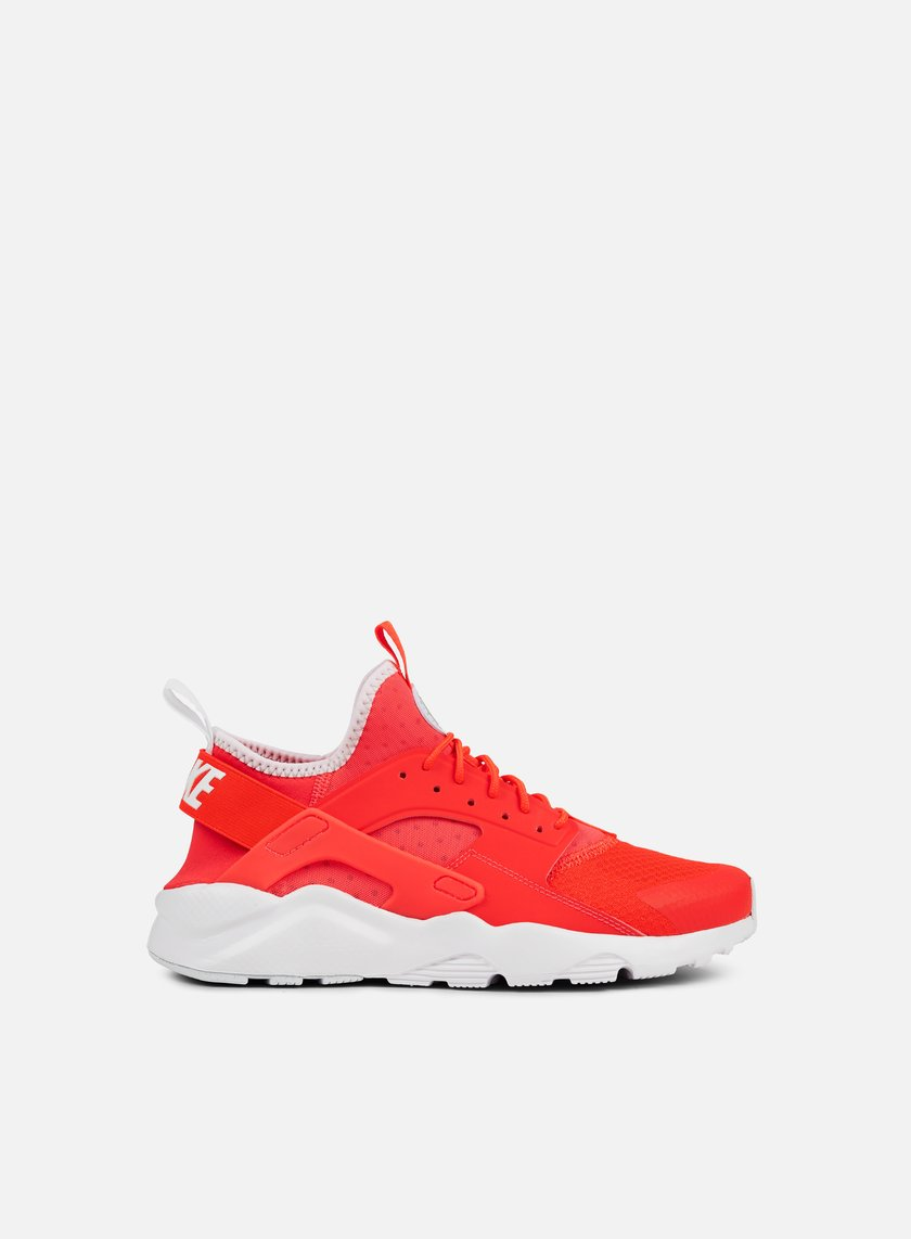 Nike - Air Huarache Run Ultra, Bright Crimson/Bright Crimson/Pale Grey