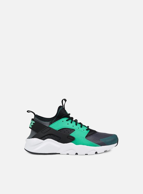 sneakers nike air huarache run ultra dark grey menta black