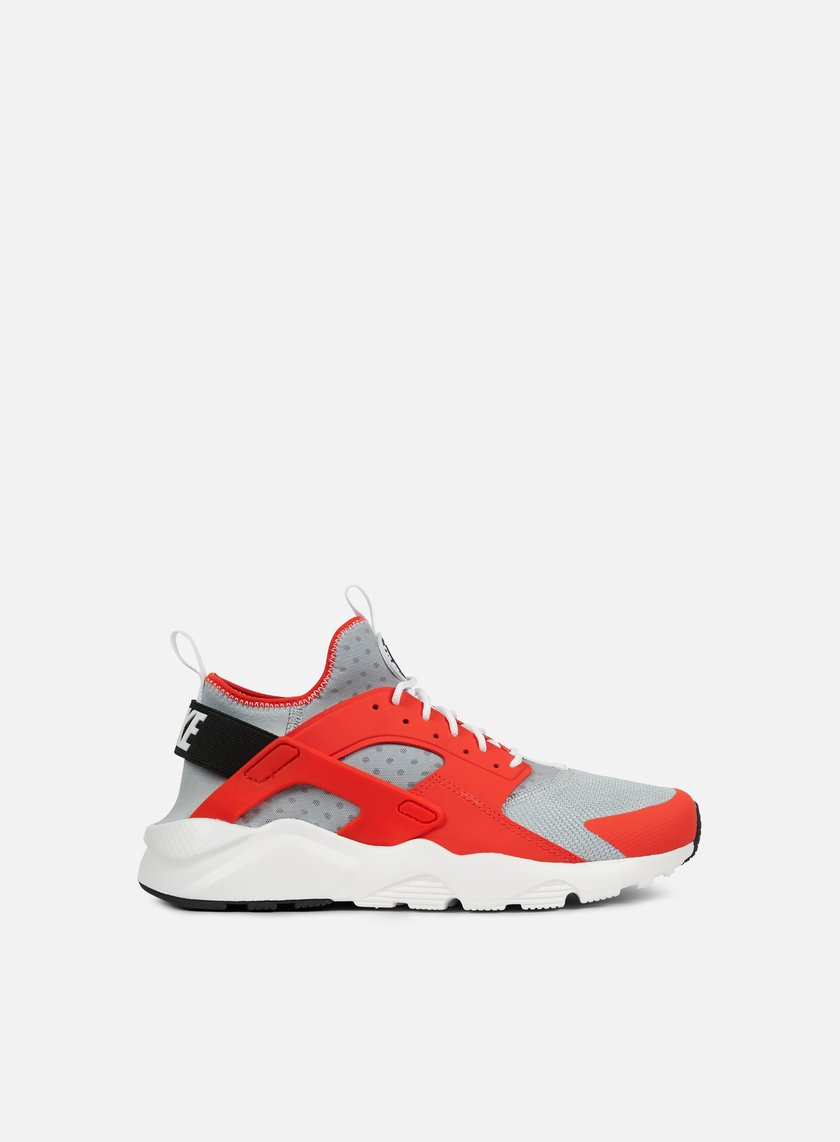 nike huarache run ultra orange grey