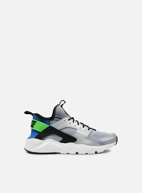 sneakers nike air huarache run ultra royal blue black scream green