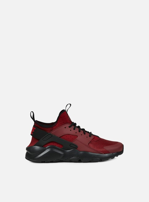 sneakers nike air huarache run ultra team red gym red black