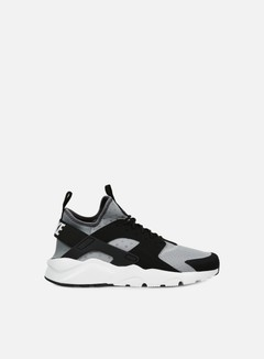 Nike - Air Huarache Run Ultra, Wolf Grey/White/Black 1