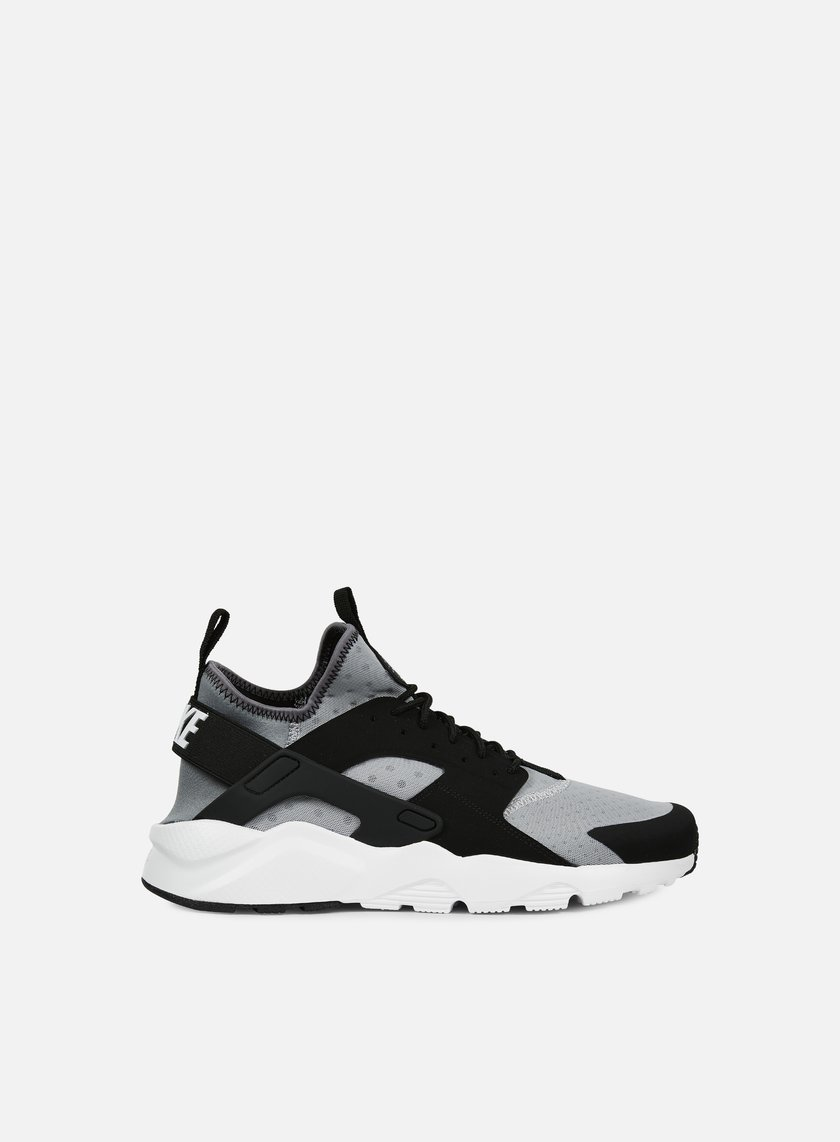 Nike - Air Huarache Run Ultra, Wolf Grey/White/Black