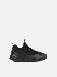 Nike - Air Huarache Utility, Black/Black/Black