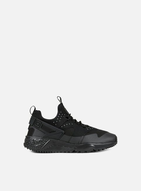 sneakers nike air huarache utility black black black