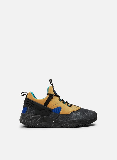 sneakers nike air huarache utility bronze racer blue rio teal