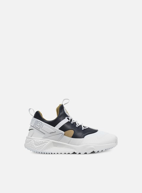 sneakers nike air huarache utility prm white metallic gold