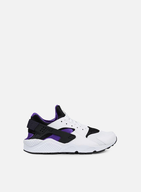 Nike - Air Huarache, White/Hyper Grape/Black