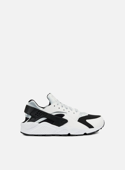 sneakers nike air huarache white pure platinum black