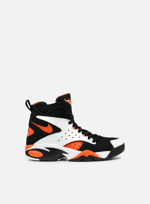 sneakers nike air maestro ii ltd white rush orange black