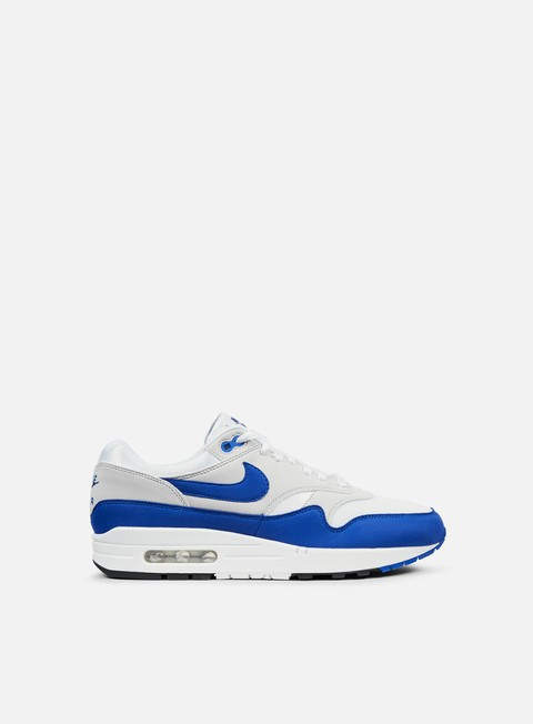 sneakers nike air max 1 anniversary white game royal neutral grey
