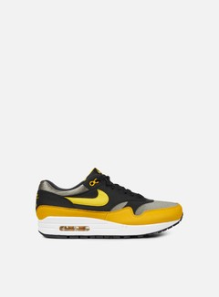 Nike - Air Max 1, Dark Stucco/Vivid Sulfur/Black