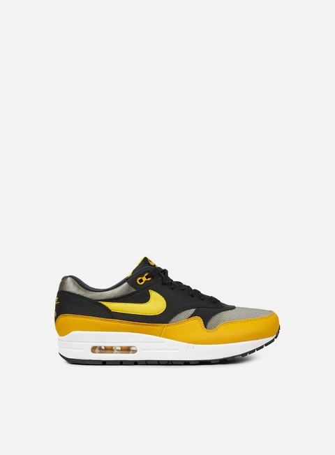 sneakers nike air max 1 dark stucco vivid sulfur black