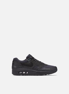Nike - Air Max 1 Premium, Black/Black/Bonsai