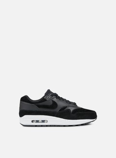 Nike - Air Max 1 Premium, Black/Chrome/Off White