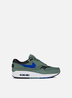 Nike - Air Max 1 Premium, Clay Green/Hyper Royal/White