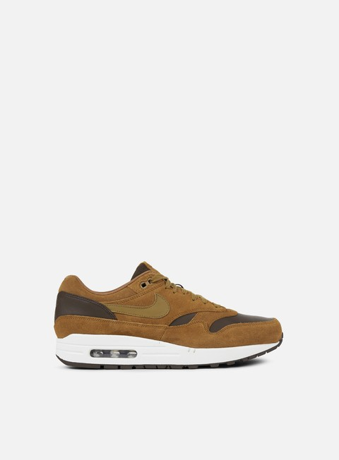sneakers nike air max 1 premium leather ale brown golden beige