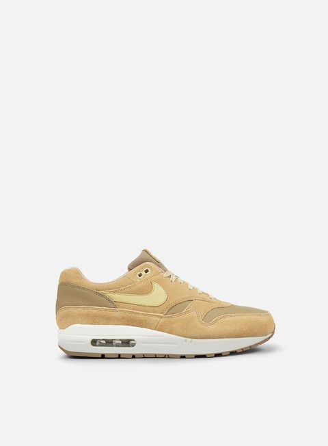 sneakers nike air max 1 premium leather khaki team gold mushroom