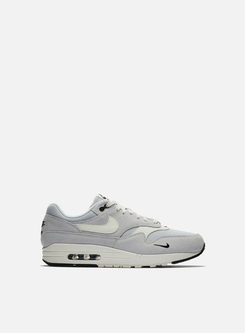 sneakers nike air max 1 premium pure platinium sail black white